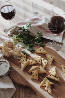 チーズクッキーの写真・画像素材[2071987]