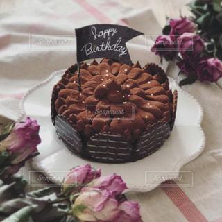 お誕生日ケーキの写真・画像素材[2090291]
