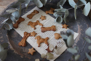 犬用クッキーの写真・画像素材[2090427]