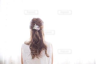 ヘアアレンジとヘアパーツの写真・画像素材[2227041]