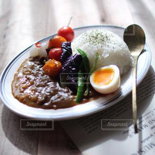 夏野菜カレーの写真・画像素材[2244411]