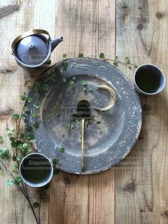 新茶でおうちカフェの写真・画像素材[2401213]