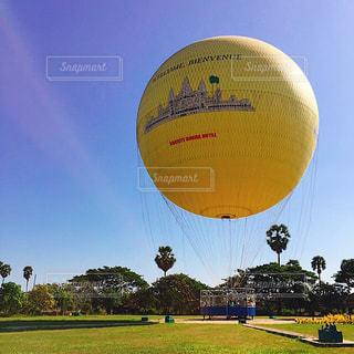 初めて気球に乗りました♡の写真・画像素材[1910204]