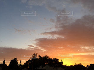 カリフォルニアの夕焼けの写真・画像素材[2002516]