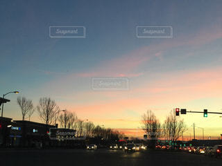 カリフォルニアの夕焼けの写真・画像素材[2002558]