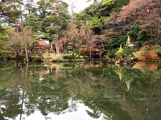 金沢 兼六園の写真・画像素材[2002563]