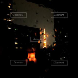 夜の街の景色の写真・画像素材[1895227]
