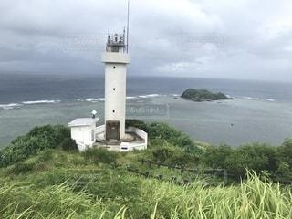 石垣島の最北端にある灯台の写真・画像素材[2334558]