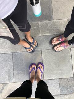ヨガ女子の脚の写真・画像素材[1937701]