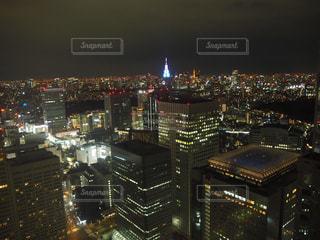 新宿夜景の写真・画像素材[1922158]