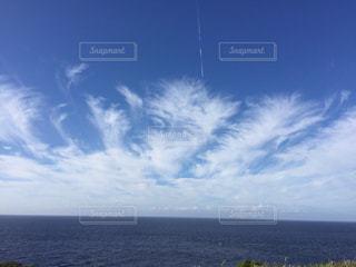 雲が描く壮大な絵画の写真・画像素材[309303]