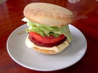 ハンバーガーの写真・画像素材[13996]
