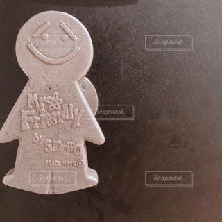 ドアノブのクローズアップの写真・画像素材[2343935]