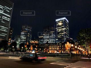 東京駅前の写真・画像素材[2175726]