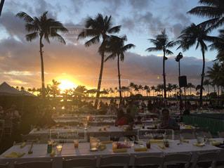 ハワイの夕日の写真・画像素材[1907450]