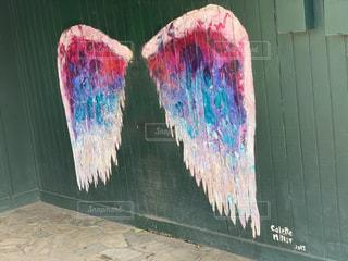 翼のアートの写真・画像素材[1891783]