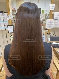 ツヤ髪の写真・画像素材[3651262]
