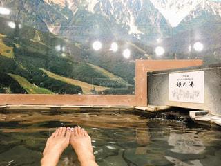 一番風呂の写真・画像素材[1928764]