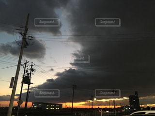 すごい雲の写真・画像素材[2053418]
