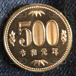 コインをクローズアップするの写真・画像素材[2745790]