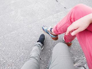 歩き疲れての写真・画像素材[1990174]