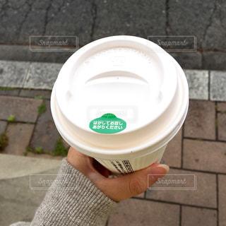 テイクアウトコーヒーの写真・画像素材[2076667]