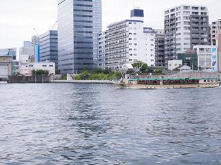 隅田川の屋形船の写真・画像素材[2082963]