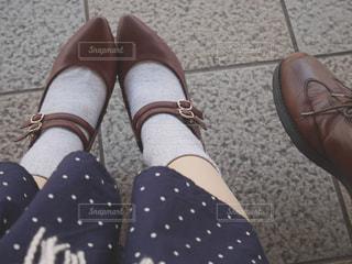 お気に入りの靴でお出かけの写真・画像素材[2254887]