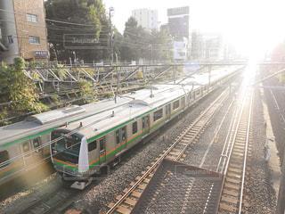 光と電車の写真・画像素材[2272737]