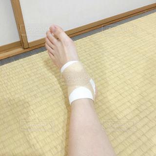 足の怪我の写真・画像素材[2331665]