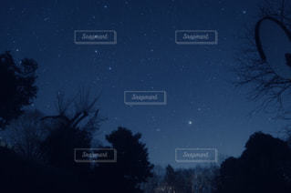 星空撮影の写真・画像素材[2880624]