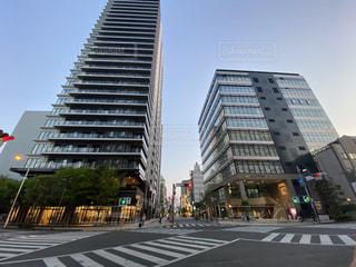 静岡市 七間町の街並みの写真・画像素材[3187472]