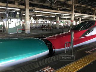 東北新幹線の連結部の写真・画像素材[1906575]