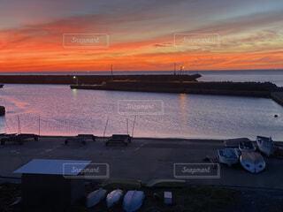 綺麗な夕景の写真・画像素材[4684129]