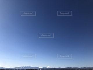 青い空と富士山の写真・画像素材[1900161]