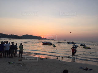夕日の写真・画像素材[287581]