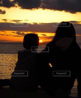 ある日の夕暮れの写真・画像素材[1931972]
