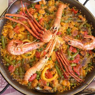 パエリヤ スペイン料理の写真・画像素材[2002728]