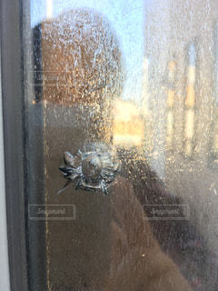 ガラスが割られたの写真・画像素材[2617637]
