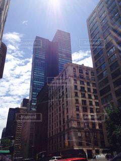 高層ビルの都市の景色の写真・画像素材[1903034]