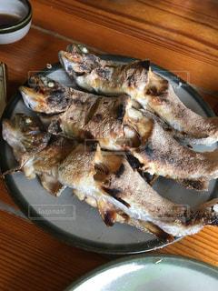 川魚の塩焼きの写真・画像素材[1907205]
