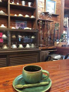 昔ながらの喫茶店。の写真・画像素材[1985897]