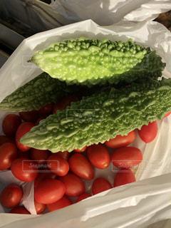 採れたて夏野菜の写真・画像素材[2395020]