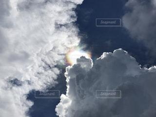 雲と虹の写真・画像素材[1937076]
