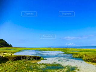 沖縄の海と空の写真・画像素材[1968866]
