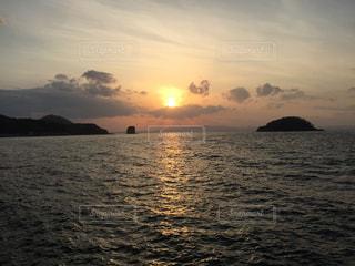 夕日の写真・画像素材[1907712]