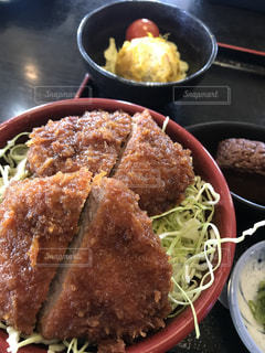 ソースカツ丼の写真・画像素材[1896848]