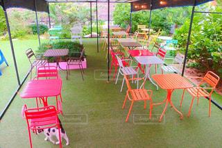 韓国のカフェの写真・画像素材[2021206]