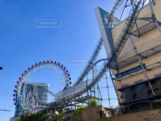 東京ドームシティの空の写真・画像素材[1949702]
