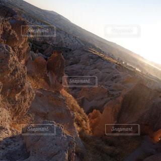 レッドバレーの夕陽の写真・画像素材[2004460]